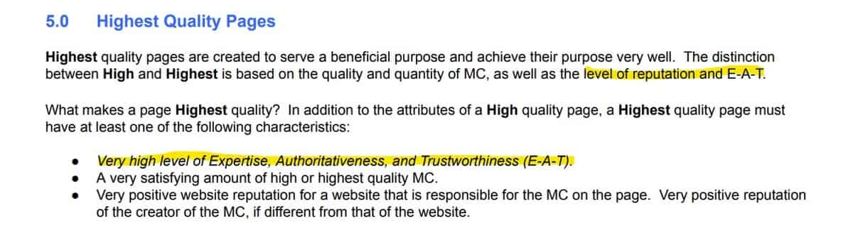Expertise, authoritativeness, and trustworthiness - CustomerFaucet.com